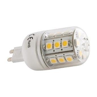 LED Leuchte G9 24xSMD 5050 Corn 5W 370Lm warm (0372)