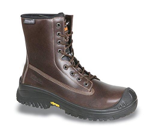 Beta Scarpe di sicurezza 7295tnv-Custodia in pelle 20345S3HRO SRC stivaletti, Marrone, le scarpe da lavoro, 43, 1