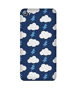 Blue Cloud Thunder Micromax Canvas Fire 4 A107 Case