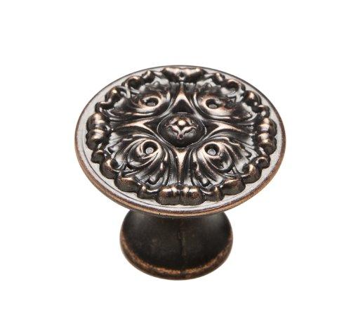 Knobware K-5073/45/ZN3/VB 1-1/8-Inch Venetian Bronze French Gothic Knob (Gothic Knobs compare prices)