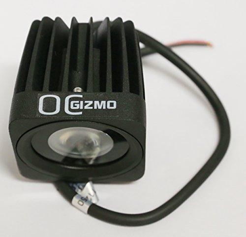 "Oc Gizmo Off Road 10W Led Work Light Lamp Harley Dually D2 Bike Motorcycle Spot Beam 2.5"""