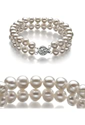 White 6-7mm A Quality Freshwater Pearl Bracelet