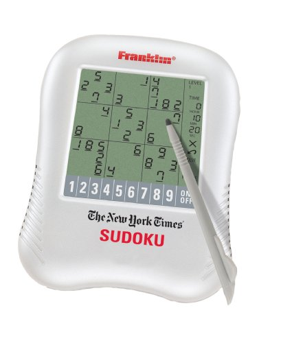 Cheap Franklin Electronics Franklin New York Times Handheld Sudoku Game (NYT-320SDU) (B002XQ3GUA)