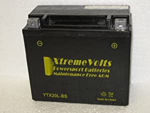 YTX20HL-BS AGM Xtreme Volts Battery