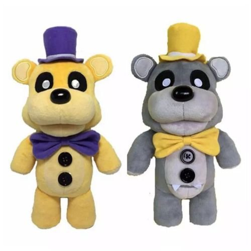[2 pcs Best Plush Bears Soft doll Stuffed Toys Great quality Chirstmas gift or Birthday for kids] (Five Nights At Freddys Costume Mangle)