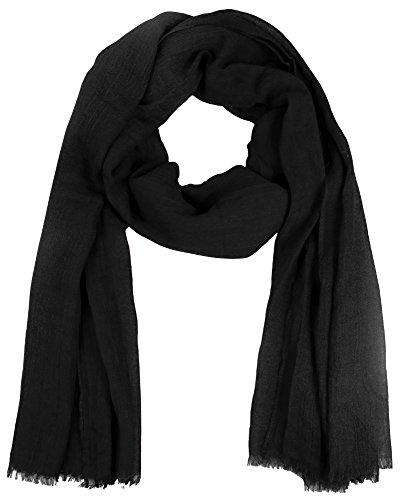 warmer-damen-schal-einfarbig-uni-lang-schwarz