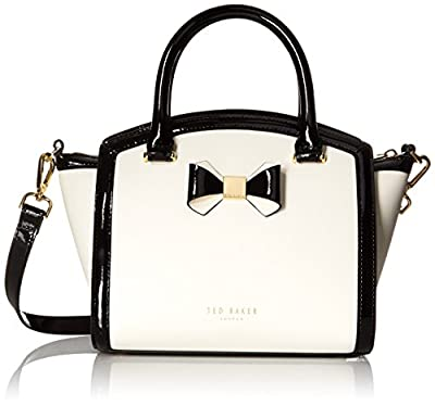 Ted Baker Demmie Curved Top With Bow Satchel Shoulder Bag