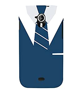 Shirt T-Shirt Tie Graphical 3D Hard Polycarbonate Designer Back Case Cover for Micromax Canvas HD A116 :: Micromax Canvas HD Plus A116Q