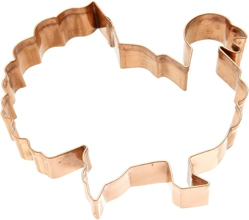 Copper Animal Cookie Cutter - Turkey Cookie Cutter