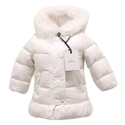 5622P giubbino bianco MONCLER BABY giubbotto bimba jacket kids [6-9 MONTHS]
