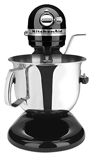KitchenAid Professional 6000 HD KSM6573COB Stand Mixer, 6 Quart, Onyx Black (Kitchenaid Mixer 600 compare prices)