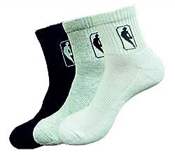 NBA Men Sports socks Ankle - pack of 3