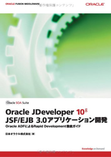 Oracle JDeveloper 10g JSF/EJB3.0アプリケーション開発