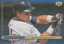 1994 Collector's Choice #312 Andres Galarraga TP