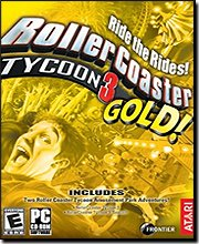 Rollercoaster Tycoon 3: Gold Compilation Pack
