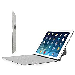 D-park Portable Ultrathin Wireless Dust-proof Bluetooth Keyboard with Triangle Stand Case Cover For Apple iPad Air 2/Air1 Universal for 10