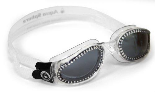 Aqua Sphere Kaiman Schwimmbrille, Farbe:transparent/grau