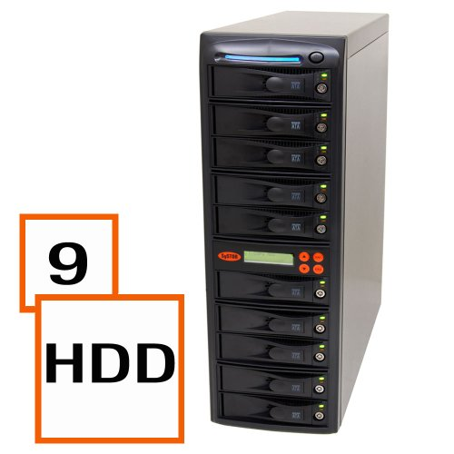 Systor 1:9 Sata Hard Disk Drive / Solid State Drive (Hdd/Ssd) Clone Duplicator/Sanitizer (Sys109Hs) front-352883