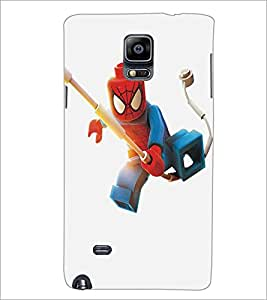 SAMSUNG GALAXY NOTE 4 CARTOON CHARACTER Designer Back Cover Case By PRINTSWAG