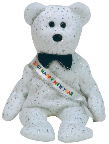 Ty Beanie Babies New Year 2007 Bear Beanie Baby - 1
