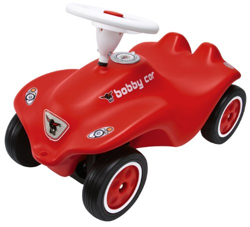 Big Bobby Red Car Ride on Push Riding Toy