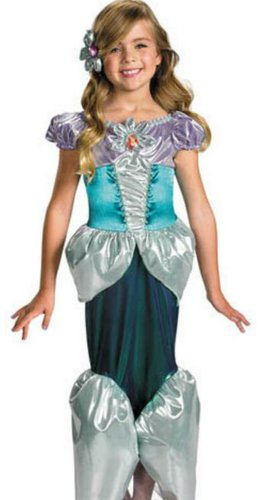 Ariel Lame Deluxe 4-6 Kids Girls Costume