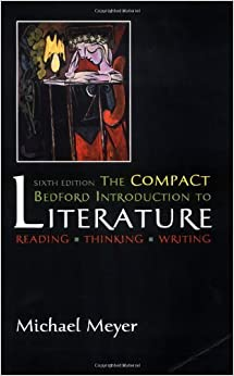 The compact bedford introduction to literature