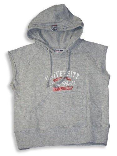 Mish Mish - Boys Hooded Sleevless Tee, Grey - Buy Mish Mish - Boys Hooded Sleevless Tee, Grey - Purchase Mish Mish - Boys Hooded Sleevless Tee, Grey (Mish Mish, Mish Mish Boys Shirts, Apparel, Departments, Kids & Baby, Boys, Shirts, T-Shirts, Short-Sleeve, Short-Sleeve T-Shirts, Boys Short-Sleeve T-Shirts)