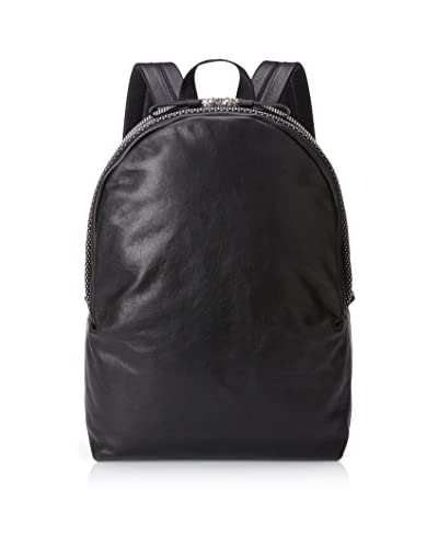 Alexander McQueen Men's Leather Backpack, Black