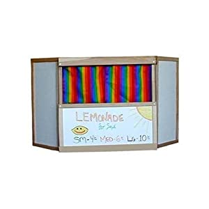 Beka Table-Top Puppet Theater with Wipe-Off Marker Surfaces by Beka