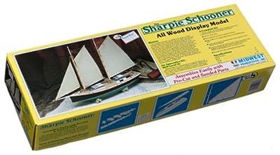 Sharpie Schooner Wooden Model Kit