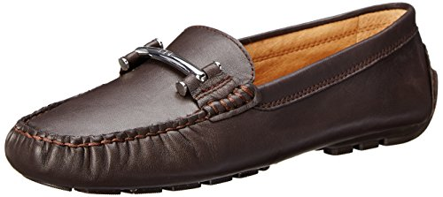 Lauren Ralph Lauren Women'S Caliana Slip-On Loafer, Dark Brown Soft Cow, 9.5 B Us