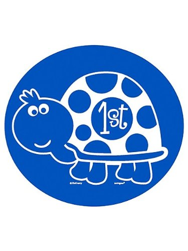 First Birthday Turtle Mini Cutouts (10-pack)