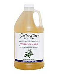 Soothing Touch W67363H Therapeutic Lite Oil, 1/2 Gallon