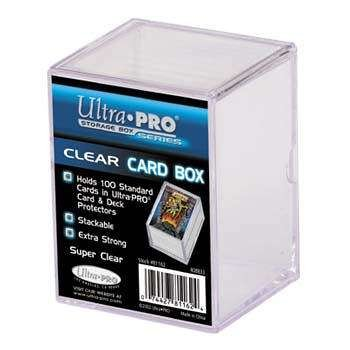 Ultra Pro 7442781162 Slide Clear Card Storage Box, Piece - 2 - 1