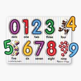 Cheap Fun See-Inside Numbers Peg Puzzle (B002VRES2Q)
