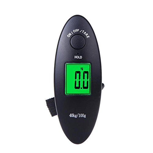 Black Mini Digital Portable Scale 40kg/100g Travel