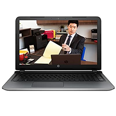 HP Pavilion 15-AB549TX 15.6-inch Laptop (Core i7-6500U/8GB/1TB/Windows 10 Home/4GB Graphics), Natural Silver