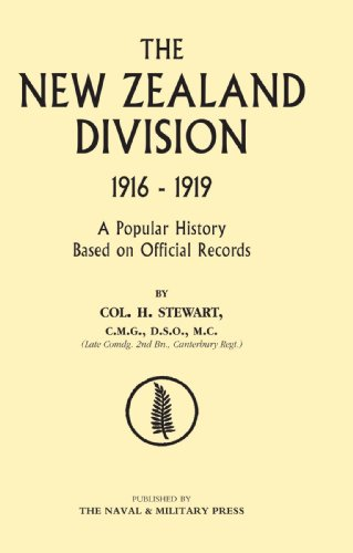 New Zealand Division 1916-1919. the New Zealanders in France