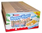 Kinder Happy Hippo - Hazelnut, CASE, 10x(20.7g x 5) 50 pcs