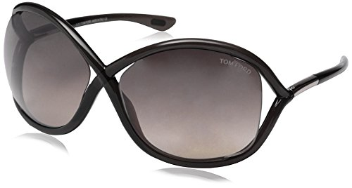 Tom Ford Women's FT0009 Sunglasses, Black (Tom Ford Whitney Sunglasses Women compare prices)