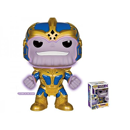 Guardians of the Galaxy Thanos Glow-in-the-Dark 6-Inch Pop! Vinyl Figure - Entertainment Earth Exclusive