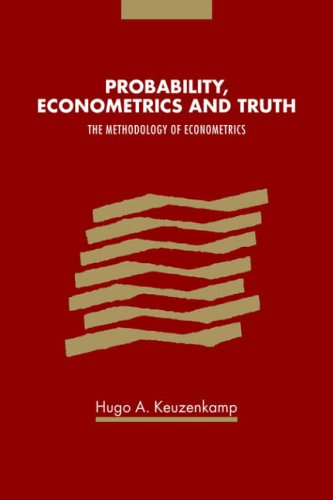 Amazon.com: Probability, Econometrics and Truth: The Methodology of Econometrics (9780521029735): Hugo A. Keuzenkamp: Books