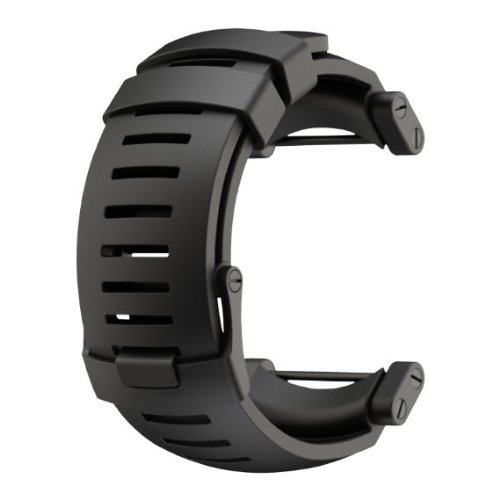 Suunto  Core Rubber Replacement Watch Strap (Black)