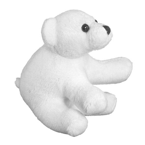 Stuffed Polar Bear Toy By Wild Life Artist