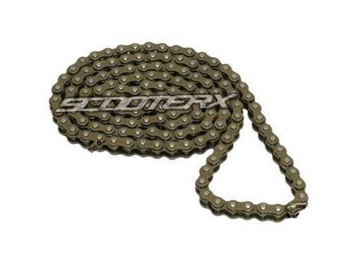 Scooterx 47 Link Chain #25 for Gas Scooter, Pocket Bike, Mini Chopper, Gas Skateboard (Choppers Bikes compare prices)