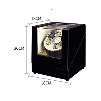 Watch Winder Dual Automatic Watch Winder Luxury Automatic Watch Display Case Automatic 2 Watch Winder Rotator