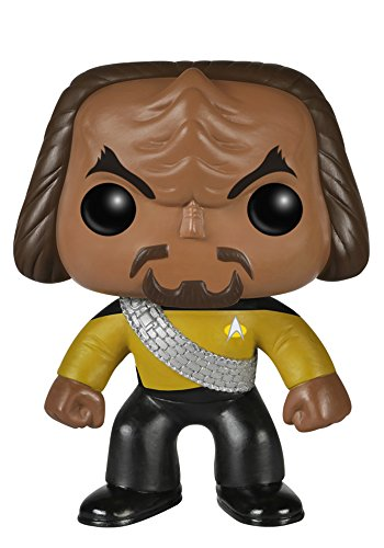 Funko POP TV: Star Trek The Next Generation - Worf Action Figure - 1