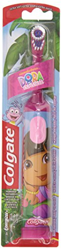 Colgate Powered Toothbrush, Dora The Explorer, Extra Soft, 1 Toothbrush, Colors may vary