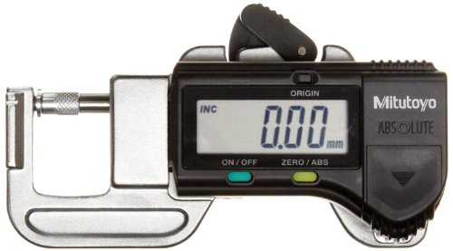 Mitutoyo 700-118-20 Quick Mini Digital Thickness Gage, 0.0005